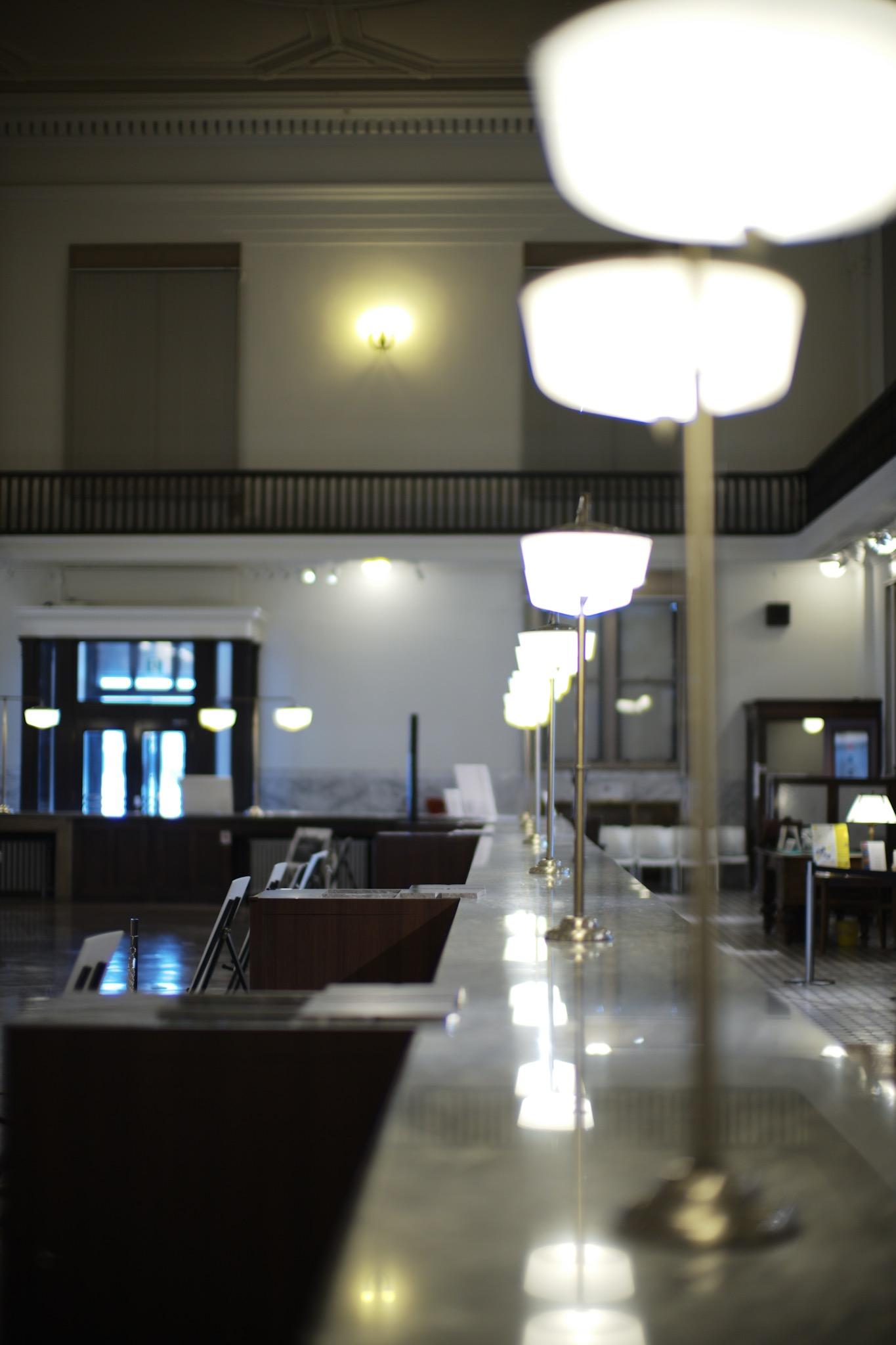 小樽芸術村 旧三井銀行小樽支店 カウンター