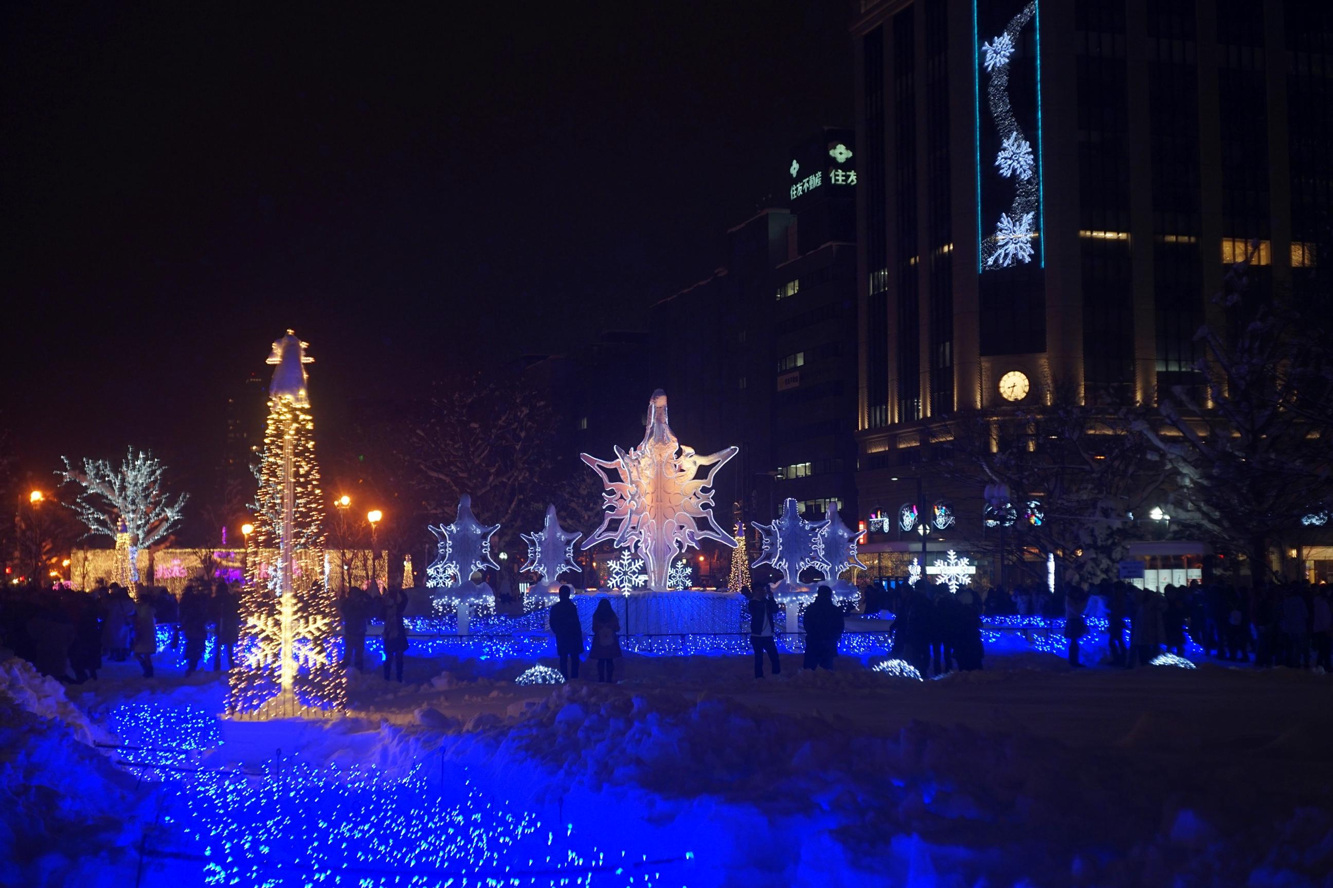 2016年 札幌ホワイトイルミネーション