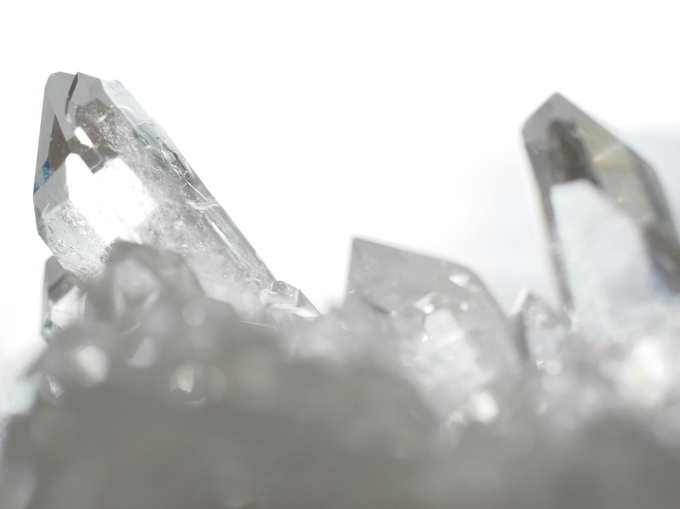 4月の誕生石 ロッククリスタル Rock Crystal 水晶 クリアクォーツ