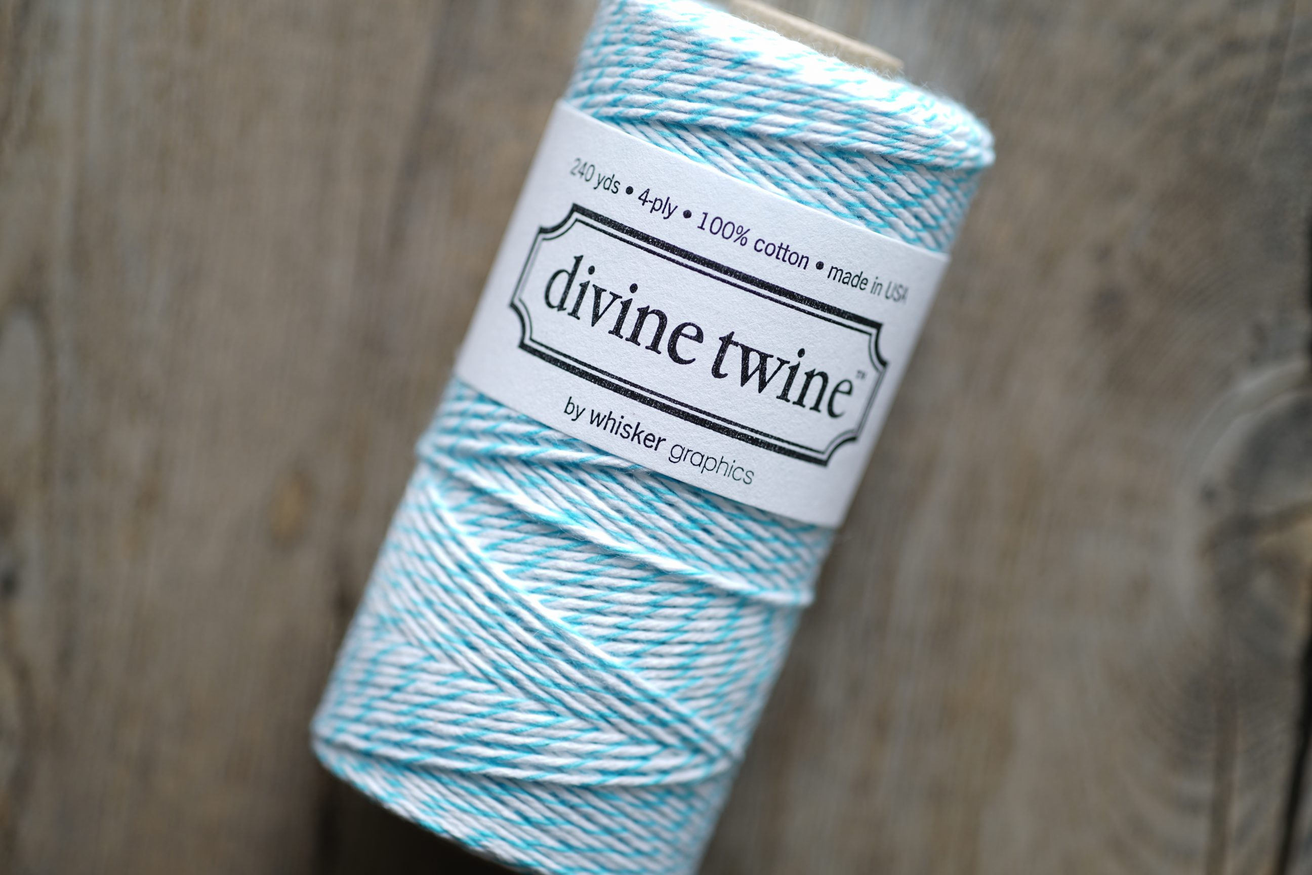 Divine Twine Aqua Blue (Aqua)