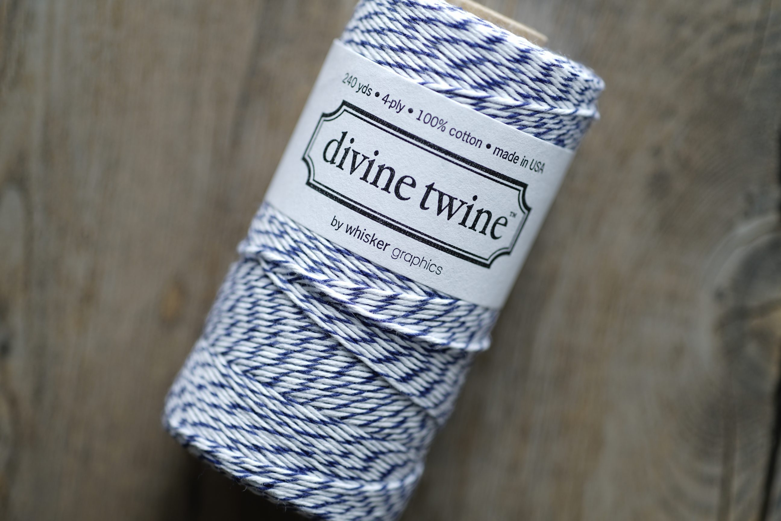 Divine Twine Blue (Blueberry)