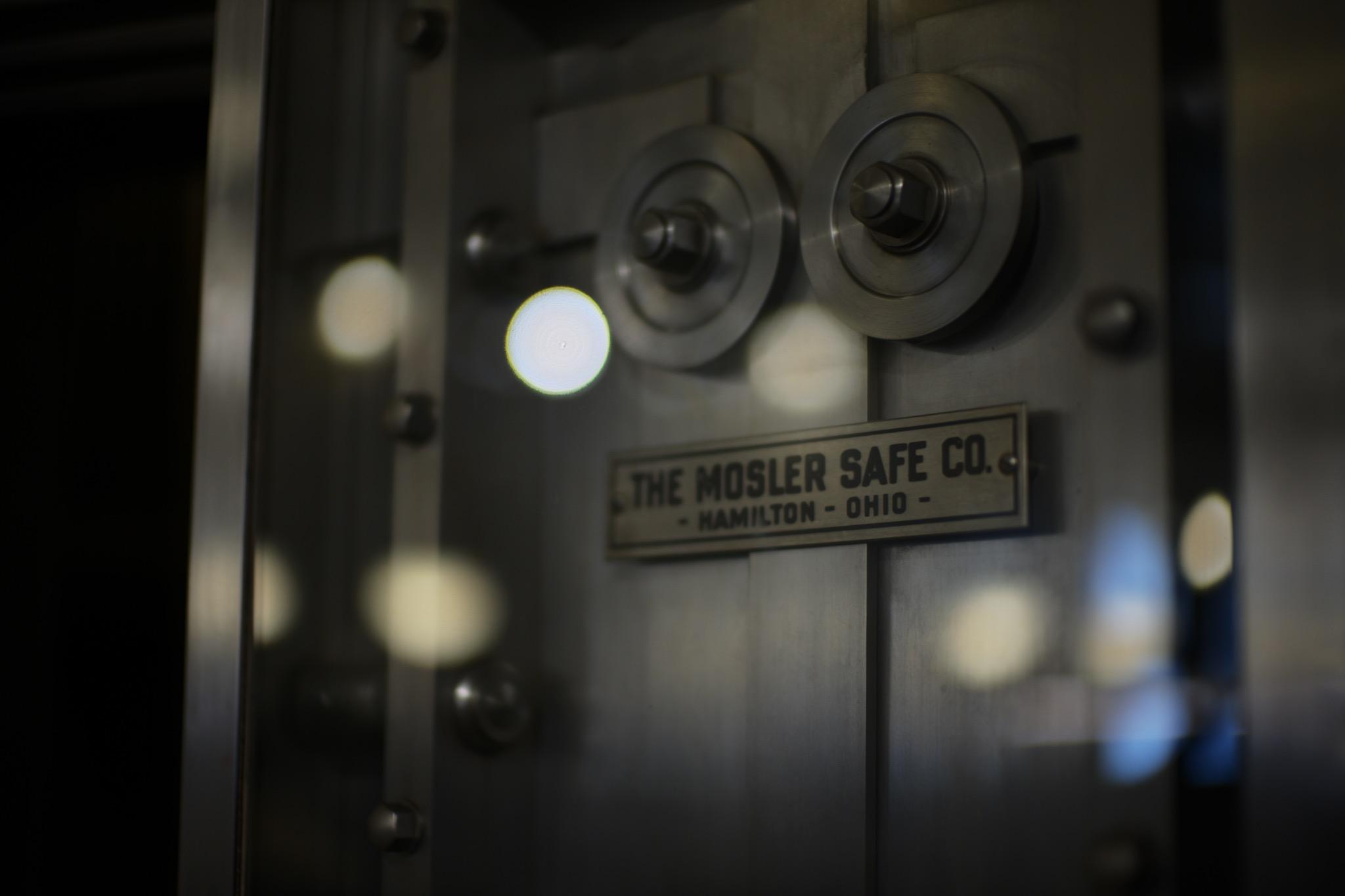 小樽芸術村 旧三井銀行小樽支店 金庫扉 The Mosler Safe Company